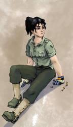 Soldaten Girl Sparrow by Black-Black