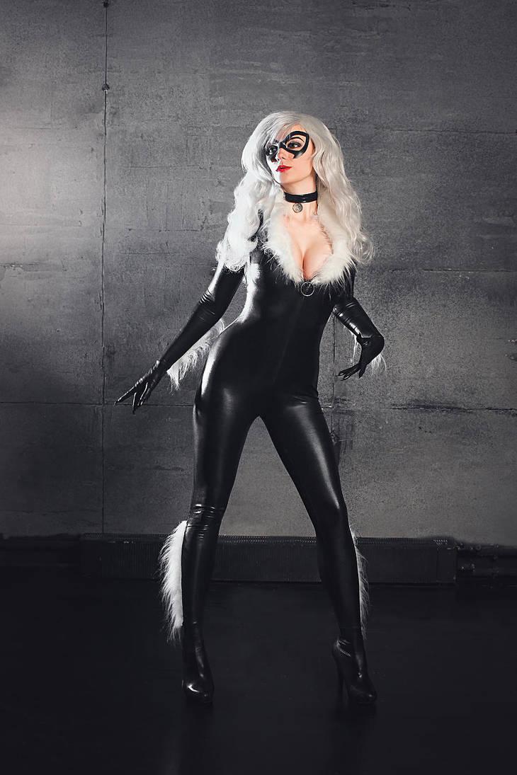 Black Cat Cosplay Marvel Spider-Man by AGflower