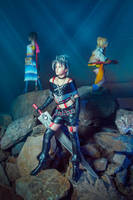 Yuna Rikku Paine Final Fantasy X-2 Cosplay by AGflower