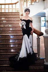 CatWoman DC Comics Wedding Cosplay by AGflower
