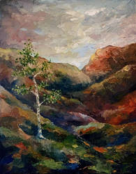 Hillside Birch by esther-rose-mouse