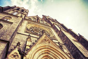 Kostel Sv. Ludmily by 4otomax