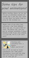 Some tips for pixel animations! by Ayinai