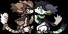 [COMM] Keiji and Rascal icons by Ayinai