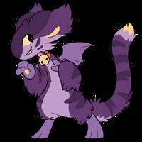[CLOSED] - 344 - Bat cat - Parasplicer by Ayinai