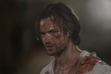 Sam Winchester by jeanettk