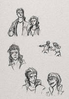 Random TLOU sketches! by TessCas