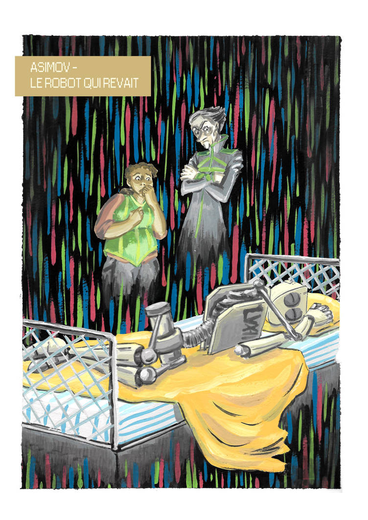 Projet Asimov - Robot Dreams by TessCas