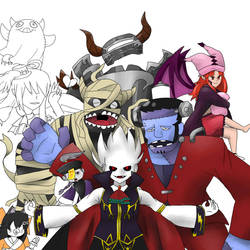 [WIP] Ghostrick Crew by Immortally--Twined