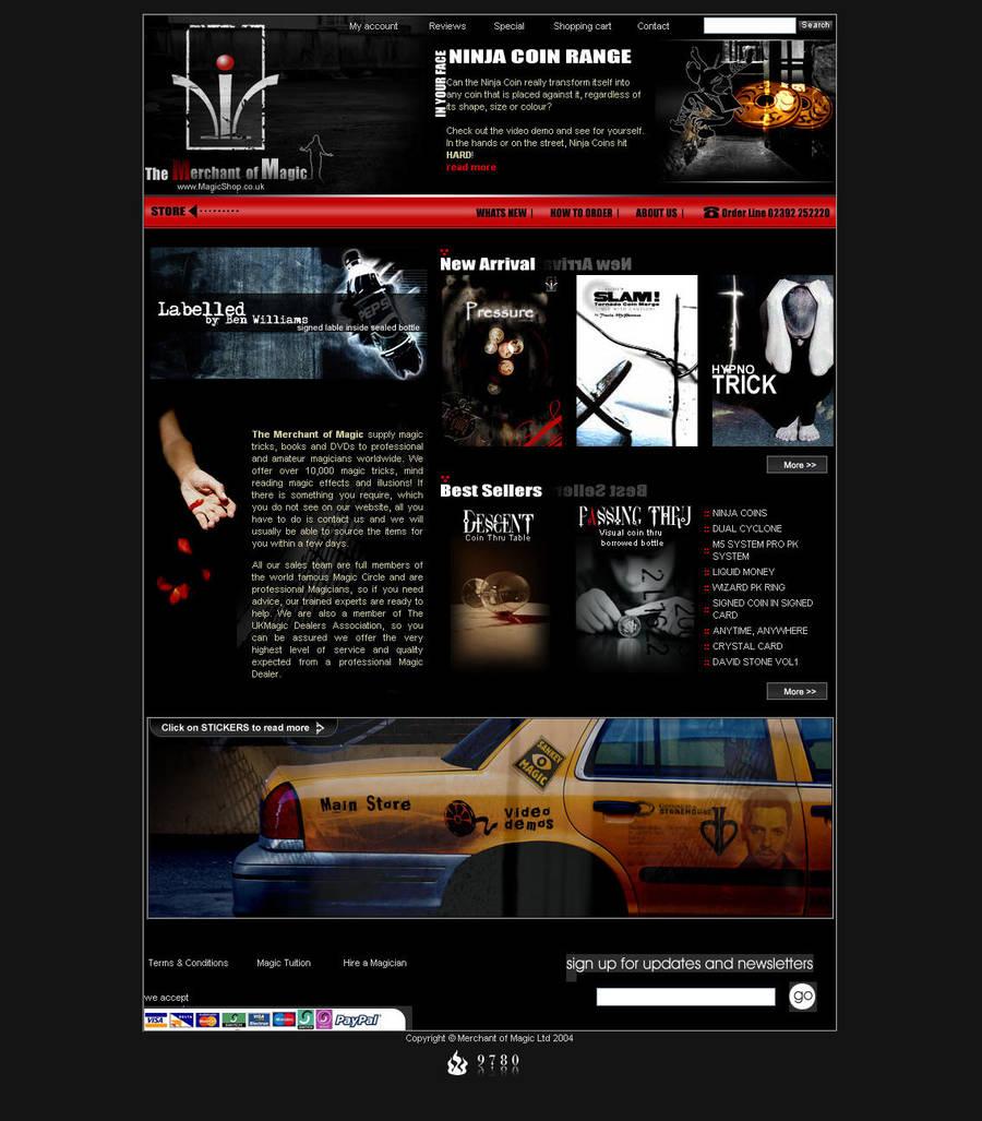 magicshop.co.uk by 9780design