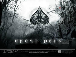 Ghost Deck Ad in MAGIC by 9780design