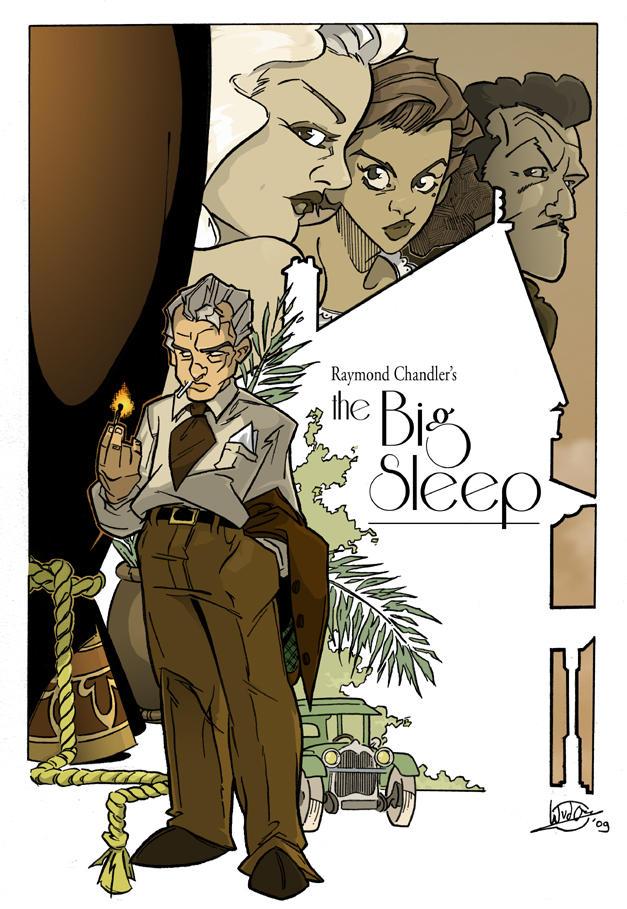 the Big Sleep by woev