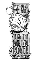 Turn the Pain into Power by woev