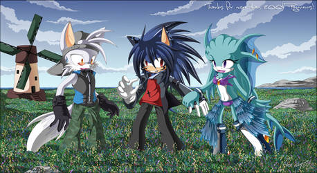 Let's pick some flowers up :D by NuffieArts