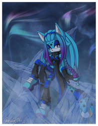 Blue Ice by NuffieArts