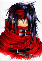 30DoD: Vincent Valentine by NuffieArts
