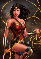 Wonder Woman by sanjun