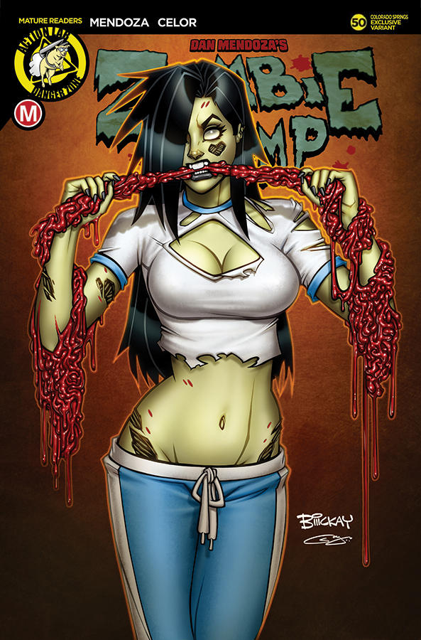 Zombie Tramp 50 Colorado Springs Regular Cover by sanjun