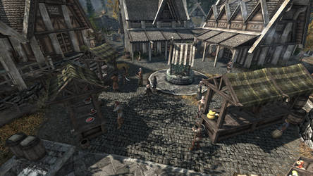 Busy day in whiterun by pmcognn
