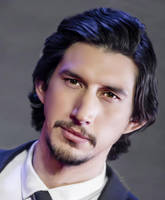Adam Driver Fan Art by SofeaAzalia