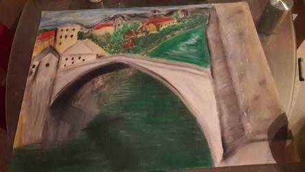 Old Bridge Mostar by Bekolina