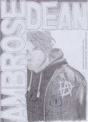 Dean Ambrose by CrazyKruemel87