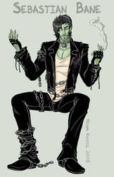 Sebastian - Chained Smoker by Kayzig