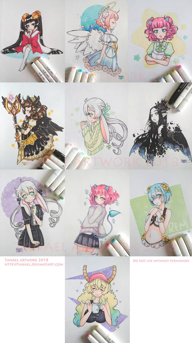 Touch marker set by Tanael