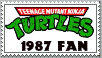 TMNT Stamp: 1987 by Culinary-Alchemist