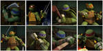 TMNT:: Weapon Switch by Culinary-Alchemist