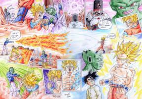 GokuSSJ2 manga by HomolaGabor