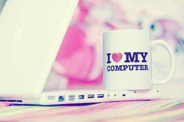 I LOVE MY COMPUTER by Missrockstarr
