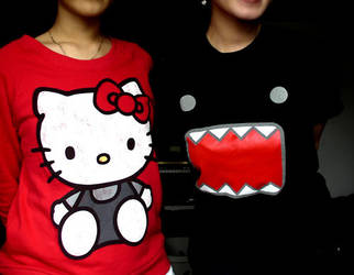 hello kitty ws monster by Missrockstarr