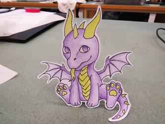 Dragon paperchild by Katrla