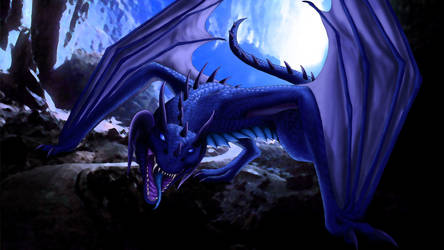 Beware of dragon by Katrla