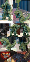 Avatars of war lizardman by The-Build