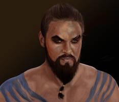Khal Drogo by sudafreekan
