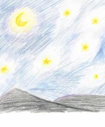 Night Sky by dundermifflin92