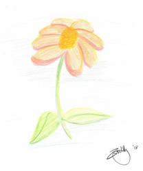 Sketch: Flower by dundermifflin92