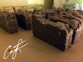 Chocoholics (Hot Process) Soap by Angelix88