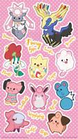 Fairy Type Pokemon by miaow