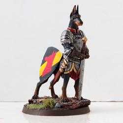 Battledoge - Doberman Knight by miaow