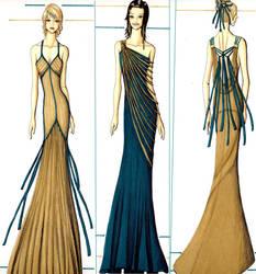 Tangled elegance by PearlDropAngel