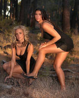 Rebecca and Selina the Pines 3 by StudioJ
