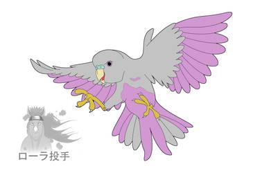 Purple Budgie by TheOddOne3