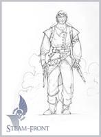 Steam-Front: AirPirate Soldier by nicholaskole