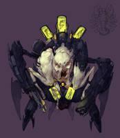 Insomniac Intern Test - Alien by nicholaskole