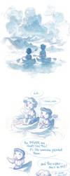 Watercolor Comic - Clouds by nicholaskole
