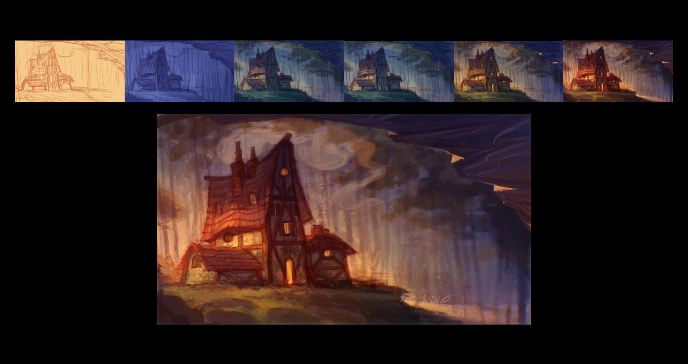 Environment Test - Late Afternoon by nicholaskole