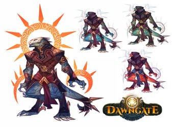 Dawngate Skin - Assassin Salous by nicholaskole